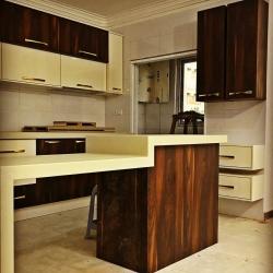 نمونه کار انجام شده با صفحه کابینت هفت سانت خانه ام دی اف کد B1034